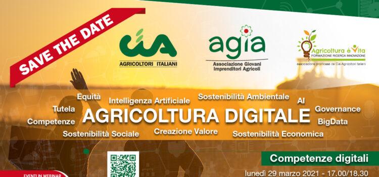 Agricoltura digitale, il terzo evento organizzato da Agia-Cia