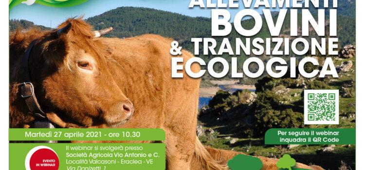 Innovazione – Allevamenti bovini e transizione ecologica